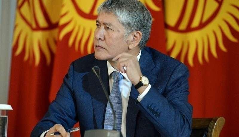 Алмазбека Атамбаева обвинили в подготовке госпереворота в Киргизии