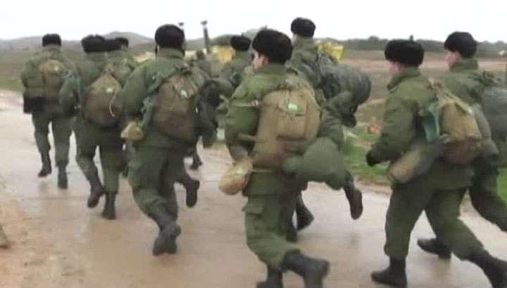 В Крыму нет отбоя от желающих служить по контракту