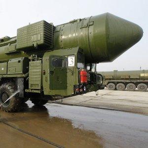 Произведён пуск межконтинентальной баллистической ракеты Тополь-М