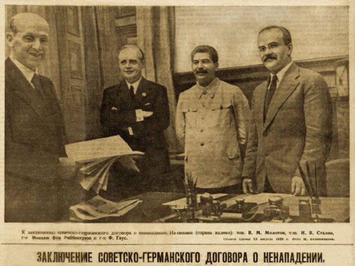 В Москве представили документы, раскрывающие историю пакта Молотова – Риббентропа