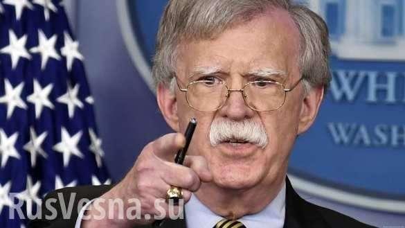 Русофоб Болтон заявил, что Россия украла технологии США | Русская весна
