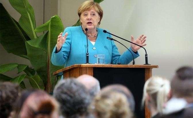 На фото: Ангела Меркель