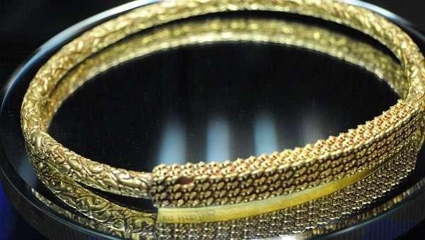 Скифское золото пропало по дороге из Европы в Крым