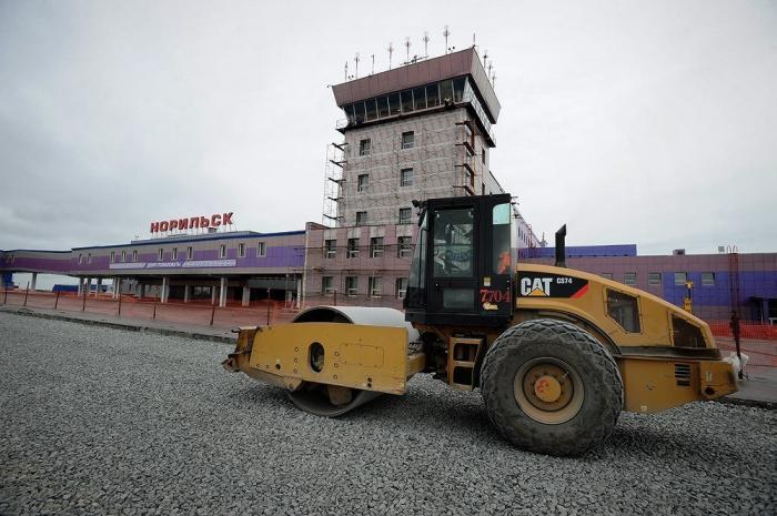 В аэропорту Норильска идет четвертый, заключительный этап реконструкции
