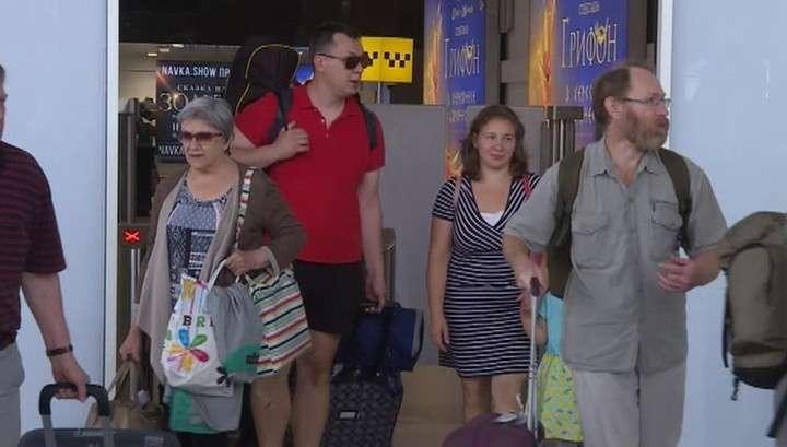 Пассажиры потерпевшего катастрофу самолета А321 долетели до Крыма