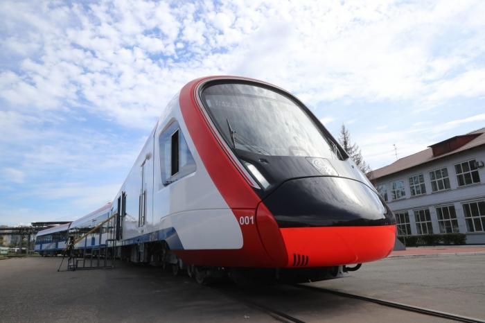 Трансмашхолдинг представил поезд «Иволга» вновом дизайне для Московских центральных диаметров