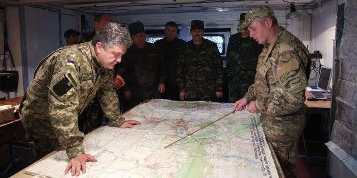 Начальник генерального штаба Украины прибыл на фронт «для командования наступлением»