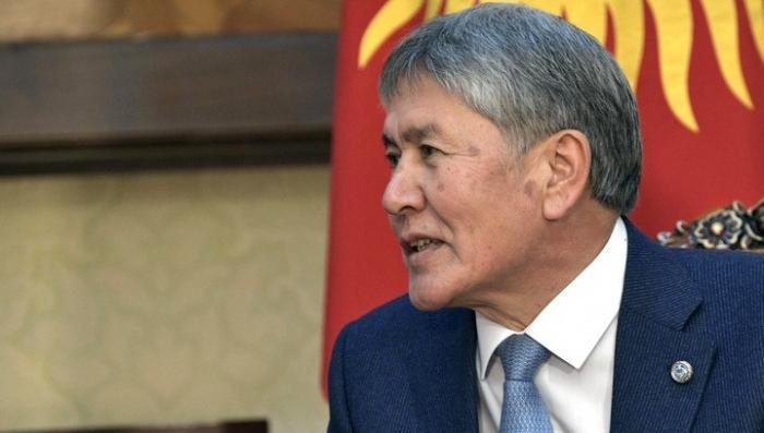 Все счета бывшего президента Атамбаева арестованы