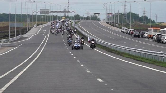 В Кузбассе открыта первая в Сибири скоростная магистраль после 14 лет строительства