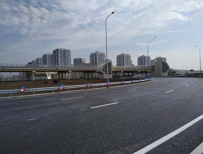 ВТюмени завершили строительство кольцевой автодороги