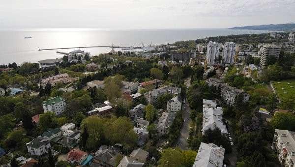 Вид города Сочи. Архивное фото
