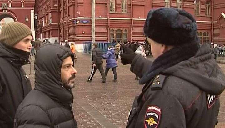 Вежливые люди патрулируют Москву