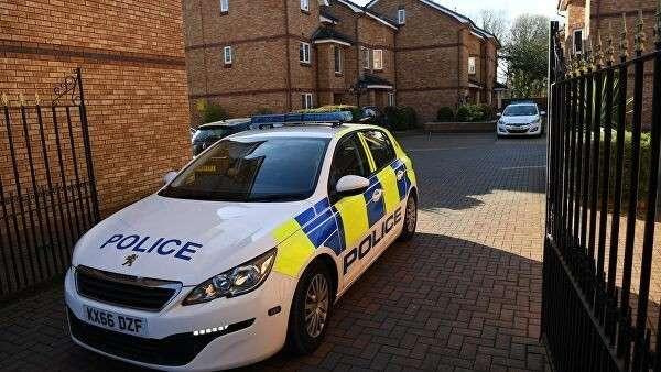 Автомобиль полиции в Великобритании