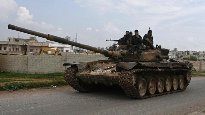 Сирийская армия окружили захваченный наёмниками город Хан-Шейхун