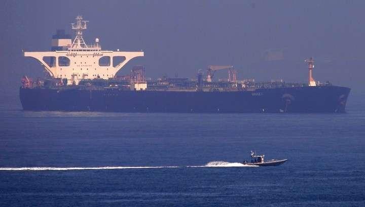 Иранский танкер, вопреки аресту США, ушёл из Гибралтара