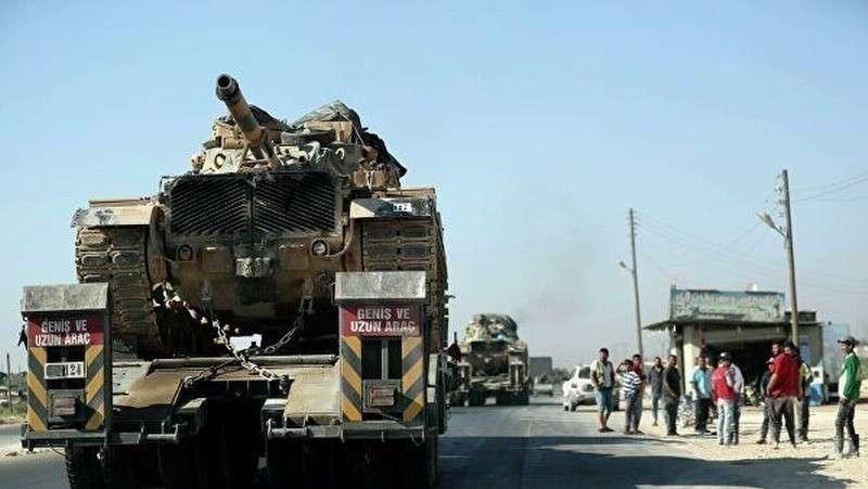ВВС Сирии нанесли удар по турецкому военному конвою в Идлибе
