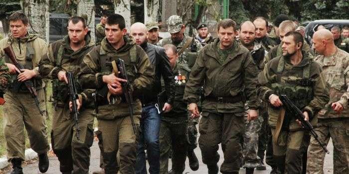 В Донецк вошли большие силы ополчения