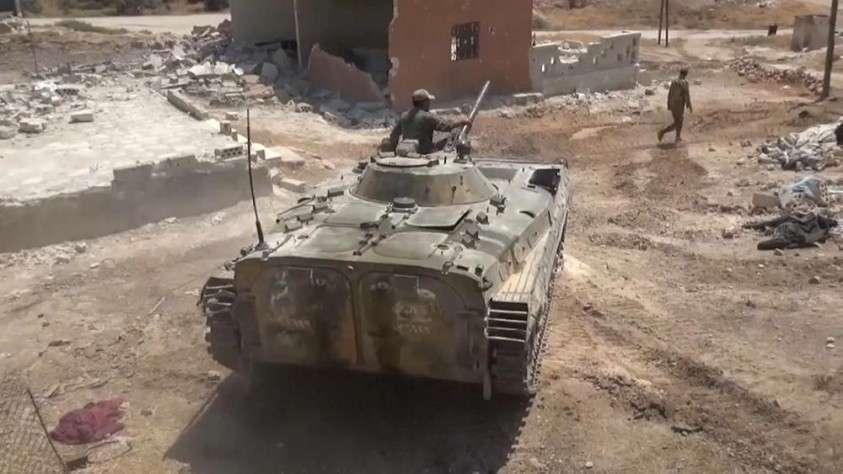 Сирия: решительное наступление на захваченный город Хан-Шейхун