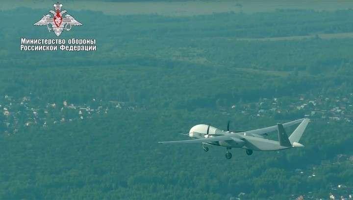 Российские военные испытали новейший БПЛА