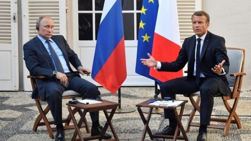 Французские СМИ неправильно перевели слова Путина о «желтых жилетах»