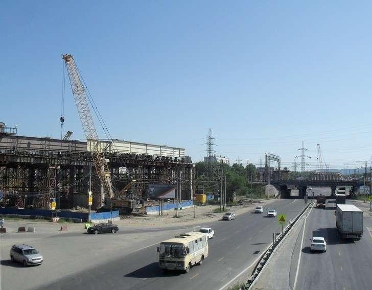 «В провинции тишина» Строительство трехуровневой развязки в Тольятти на М5 «Урал»