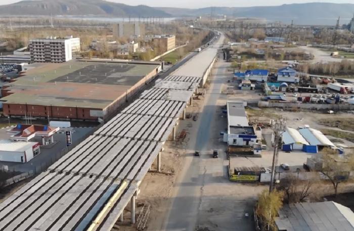 Строительство трехуровневой развязки вТольятти наМ5 «Урал»