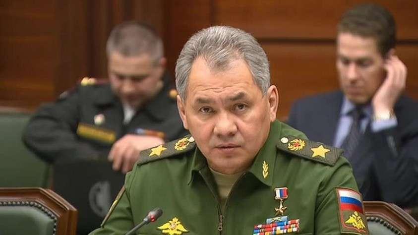 Сергей Шойгу заявил о напряженной обстановке на западном стратегическом направлении