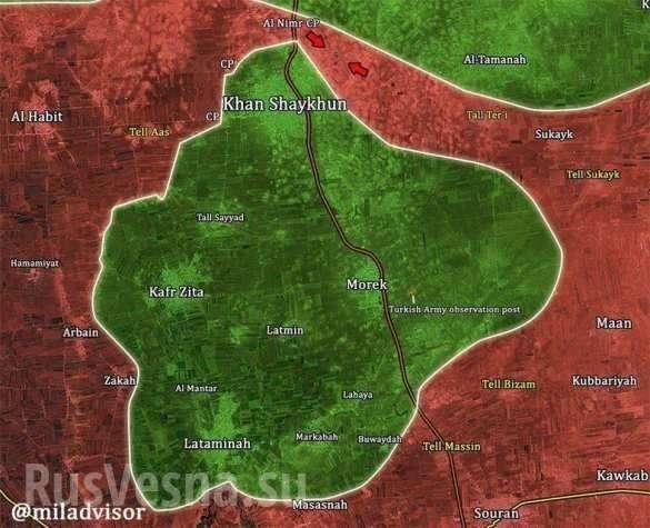 Армия Сирии захлопнула котёл в Идлибе и ворвалась в твердыню наёмников | Русская весна