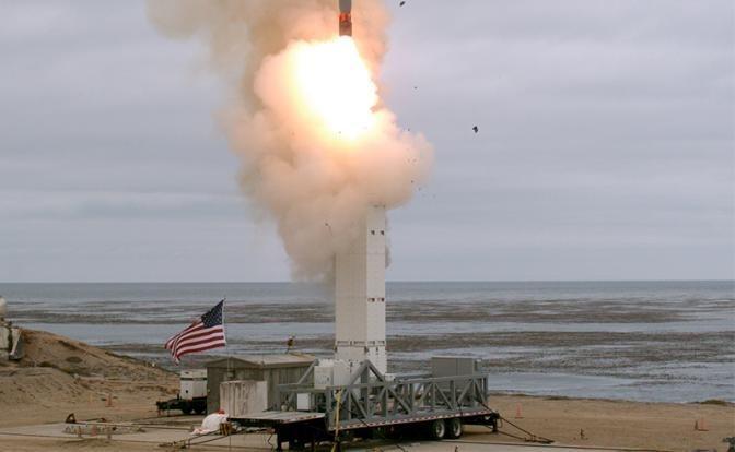 Ракета США «Pluto» посрамлена русским «Буревестником»