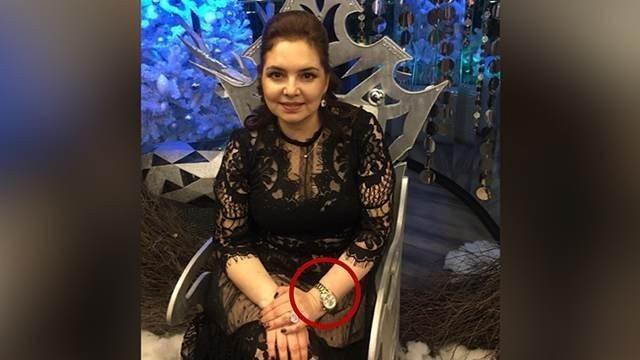 Хамоватая чиновница Ирина Алашкевич, назвавшая жертв паводка быдлом и бичами, носит часы за 2 млн