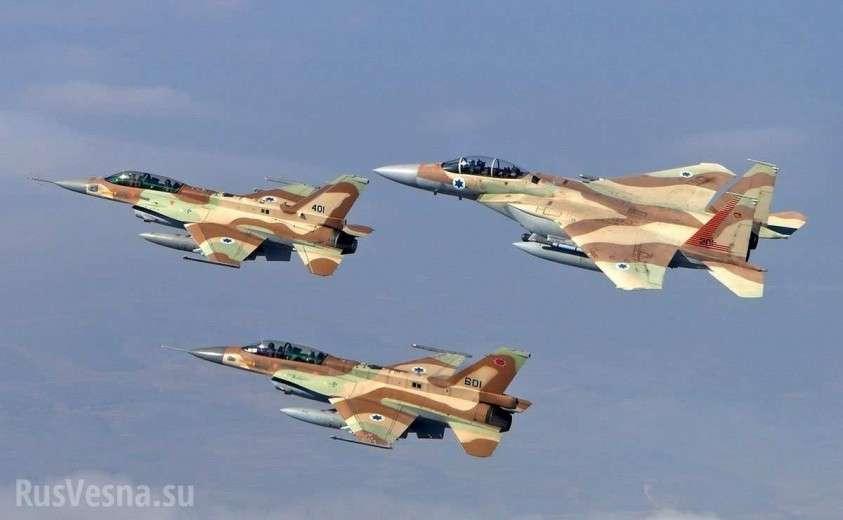 Армия Израиля с перепугу обстреляла свой гражданский самолёт