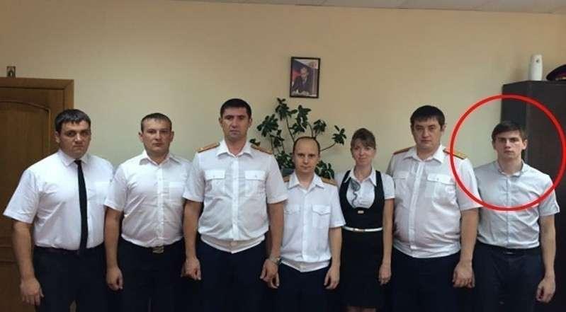 Крайний справа – следователь Сокрутенко А.А. Фото © Темрюк.инфо