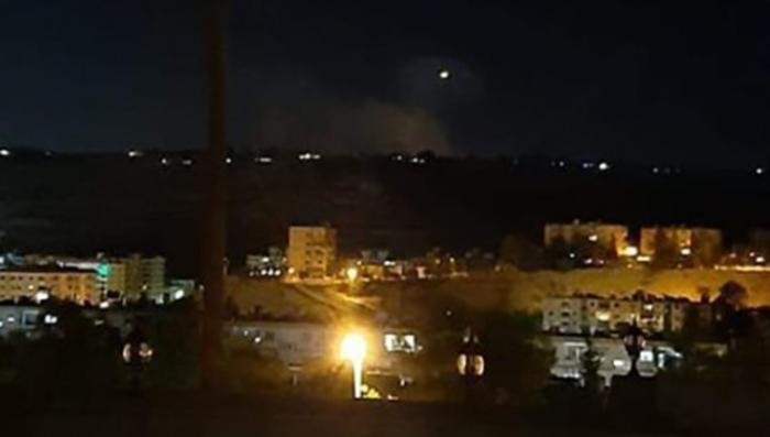 ПВО Сирии отразили над Дамаском ракетную атаку террористического Израиля