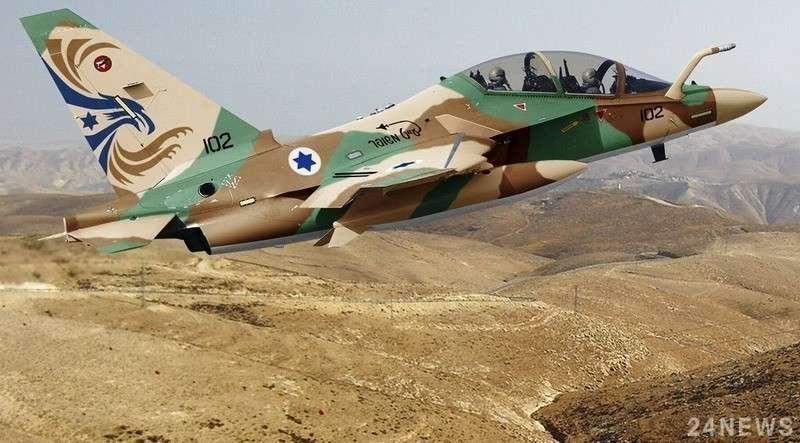 Израильские террористы нанесли воздушный удар по Сирии
