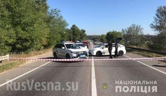 На Украине продолжают разваливаться мосты, на этот раз в Харькове обрушился автомобильный | Русская весна