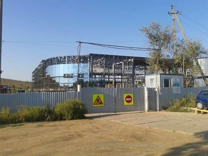 Строительство центра олимпийской подготовки Республики Крым по водным видам спорта