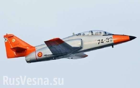 Самолёт НАТО рухнул в Средиземное море на глазах у отдыхающих (+ВИДЕО) | Русская весна