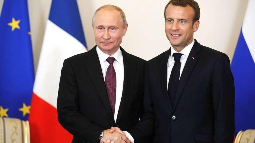 Эммануель Макрон: Гегемония Запада заканчивается – пора укреплять отношения с Россией