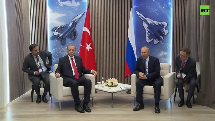 Переговоры Путина и Эрдогана на полях авиасалона МАКС-2019. Прямая трансляция