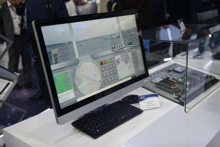 На МАКС-2019 представили обновленный защищенный компьютер «Эльбрус 801М»