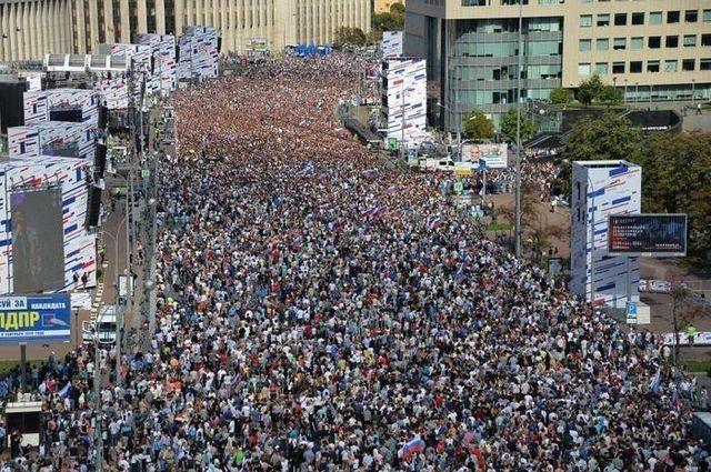 Ничего себе, оппозиция смогла собрать столько народу!