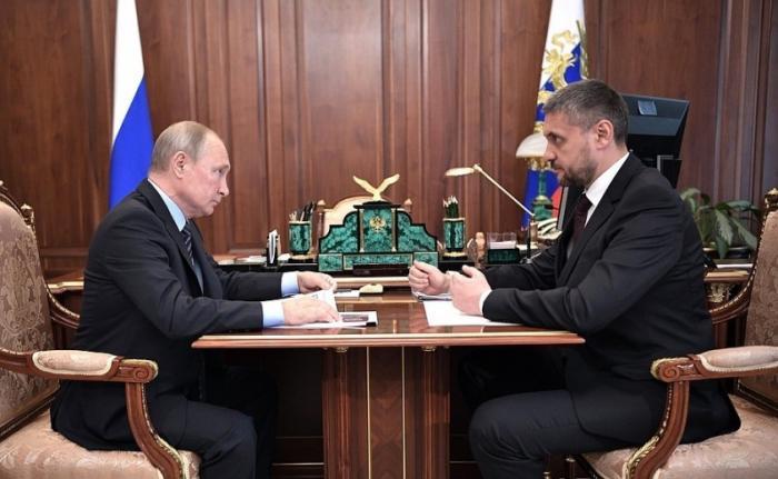 Глава Забайкальского края Александр Осипов информировал Владимира Путина о планах развития региона