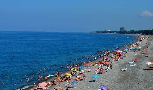 Пляж в Грузии