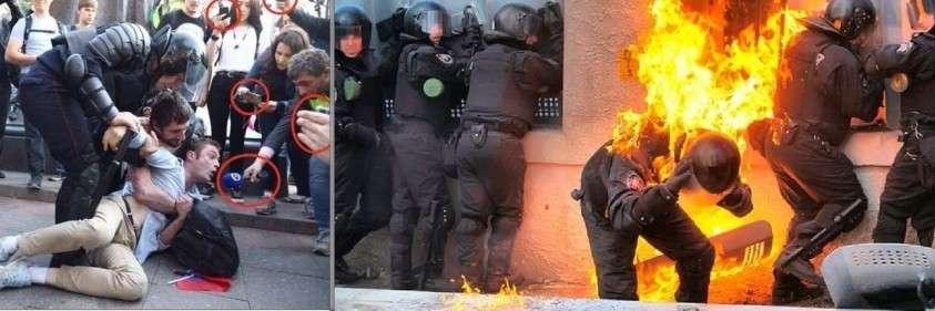 Бить или не бить – вот в чём вопрос, встающий перед полицией и властью
