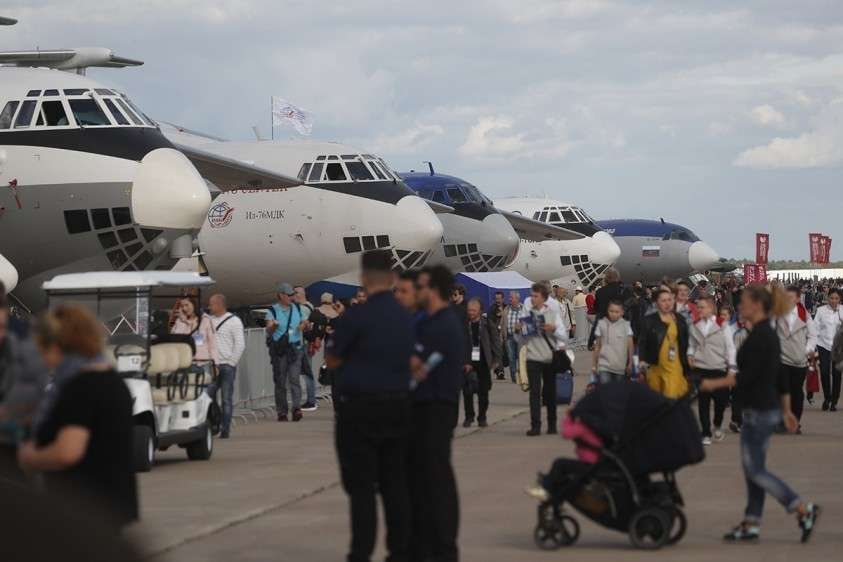 Авиасалон МАКС 2019 поставил абсолютный рекорд посещаемости