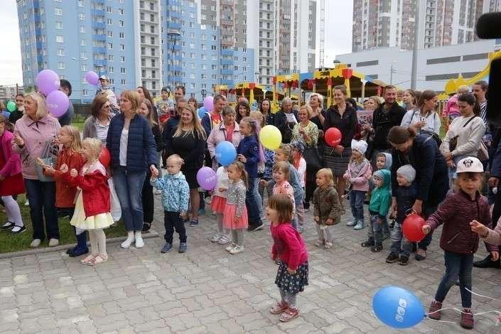Три новых детских сада открылись в Московском районе Санкт-Петербурга