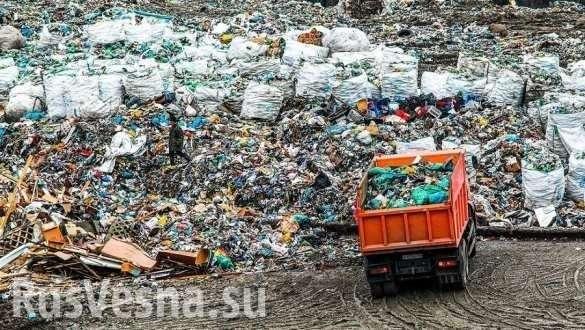 Неожиданно: Россия на треть увеличила ввоз пластикового мусора   Русская весна