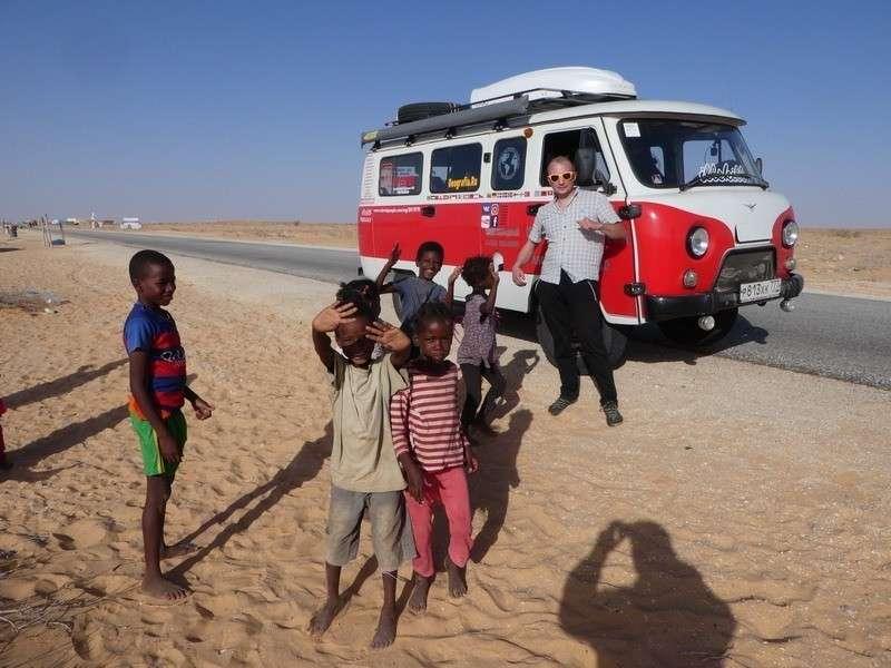 На УАЗ «Буханке» вокруг света: россиянин пересёк четыре континента