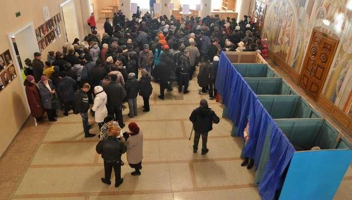 Выборы в Донбассе: явка побила все рекорды