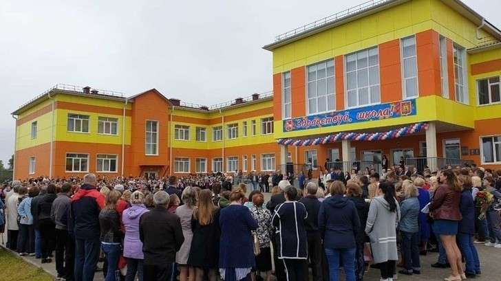В Архангельской области открылась новая школа